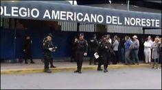 Menor provoca tiroteo, en colegio de Monterrey