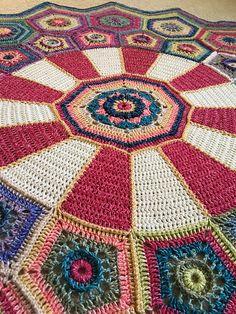 Carousel CAL - Free pattern #crochet #freepattern