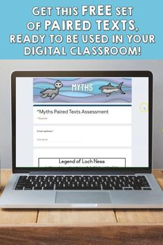 Get this free set of paired passages with text-dependent questions, ready for the digital classroom, to help students continue their practice with rigorous reading skills in an engaging way, using high-interest topics your kids actually want to read! #pairedtexts #digitalclassroom #distancelearning