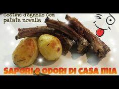 """Guarda """"ricetta del giorno Costine di agnello alla brace,Recipe of the day Lamb chops on the grill"""" su YouTube #saporieodoridicasamia"""