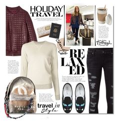 Travel in Style, Holiday Edition by mada-malureanu on Polyvore featuring 321, Jonathan Simkhai, Ksubi, Chiara Ferragni, Royce Leather, MICHAEL Michael Kors, Chanel, chiaraferragni, polyvoreeditorial and travelinstyle