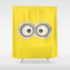 Fun Minion Shower Curtain