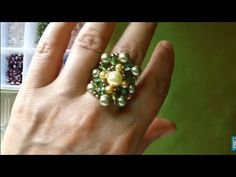 Bead Loom Patterns, Beading Patterns, Diy Beaded Rings, How To Make Rings, Loom Beading, Diy And Crafts, Projects To Try, Make It Yourself, Shibori
