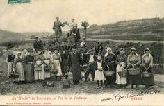 Beaune – La Paulée en bourgogne ou fin de la Vendange | Cartes Postales Anciennes