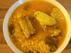 Receta de arroz con pollo y costillas