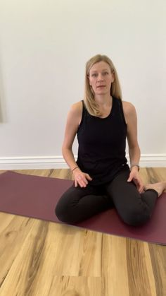 This exercise works the deep stabilizers of the hip that we need for both motion and stability. They are important for the hip and pelvic floor to work together. Pelvic Floor, Working Together, Stability, Sporty, Deep, Style, Fashion, Swag, Moda