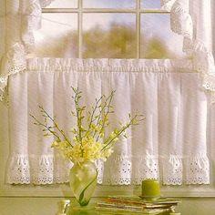 Have to have it. United Curtain Vienna Kitchen Tier $12.99