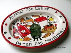 STORY ART Custom traditions family name platter with by artzfolk, $75.00