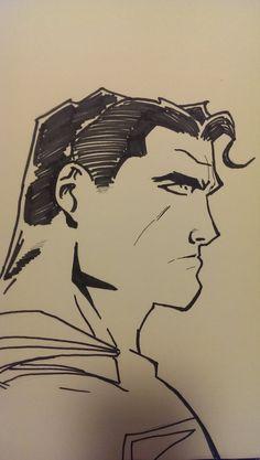 Superman ketch practice by wsjoop1119.deviantart.com on @deviantART