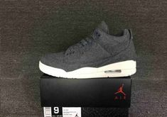 New Arrival Air Jordan 3 Wool Dark Grey Dark Grey-Sail - Mysecretshoes Black  Cement d13939b8a