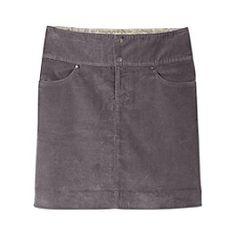 Vintage Ridge Mini Skirt (corduroy)