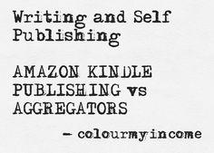 Amazon Publishing, Self Publishing, Amazon Kindle, Online Business, Colour, Writing, Color, A Letter, Colors