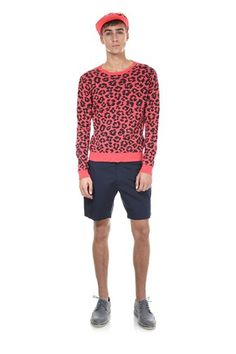 Marc by Marc Jacobs Cheetah Sweater