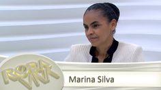 Roda Viva entrevistou a ex-senadora Marina Silva. Entre os assuntos em foco, ela falou sobre seu novo partido, projetos políticos, Mensalão, Lula, Dilma e Renan Calheiros. (2013)