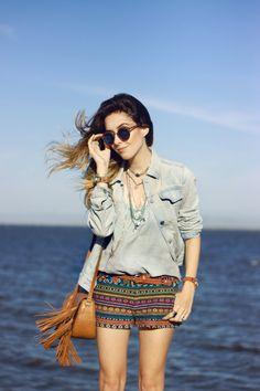 FashionCoolture - 08.01.2016 look du jour summer look Gap denim jacket (6)