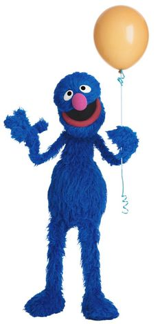 Up Up and away Grover