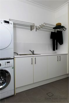 Laundry makeover, Kenthurst Sydney. By Clever Closet Comapany.