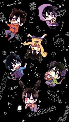 埋め込み画像 Anime Chibi, Anime Art, Dark Anime Guys, Hot Anime Boy, Osomatsu San Doujinshi, Sans Cute, Comedy Anime, Ichimatsu, Anime Japan