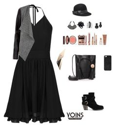 """yoins 13"" by bsenid ❤ liked on Polyvore featuring mode, Charlotte Tilbury, GUESS, H&M, Eddie Borgo, Avenue, Bebe, BaubleBar, MustHave en fall2015"