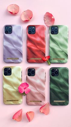 Die Satin Collection New: The Satin Collection with Betty Taube-Günter enchants us with beautiful pa Mode Statements, Satin, Clothing Hacks, Iphone 11, Phone Cases, Beautiful, Collection, Pastel Colors, Smartphone