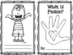 Quick activity you can complete for Peace Day with your class! Class Activities, Kindergarten Activities, Writing Activities, Holiday Activities, Remembrance Day Activities, Remembrance Day Art, Peace Poems, What Is Peace, Preschool Social Studies