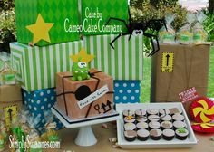 Simply Suzanne's AT HOME: Cut the Rope . . . Om Nom birthday! Part 2 ~ food, desserts, and favors