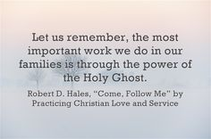 Practicing christian love and service