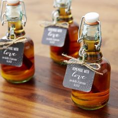 DIY Wedding Favors - DIY Whiskey Bottle Favors - Do It Yourself Ideas for Brides and Best Wedding Favor Ideas for Weddings - Step by Step Tutorials for Making Mason Jars, Rustic Crafts, Flowers, Small Gifts, Modern Decor, Vintage and Cheap Ideas for Couples on A Budget Outdoor and Indoor Weddings http://diyjoy.com/diy-wedding-favors
