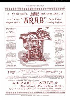 arab platen press