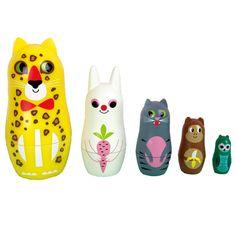 Nesting-dolls-tijger from www.kidsdinge.com #Speelgoed #Cadeautjes #Kinderkamer #Kids #Kinderkameraccessoires #Onlineshop #Brasschaat