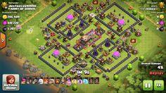 CLASH OF CLAN / TH11 legendary farming base 2016. Clash Of Clans Hack, Clash Of Clans Free, Clash Of Clans Gems, Free Gems, Hack Tool, Destruction, Troops, Farming, Army