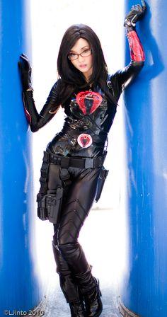 Baroness Cosplay from G.I. Joe by Alodia Gosiengfiao , photo by LJinto