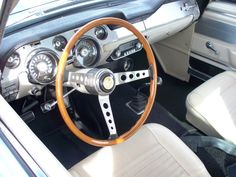 Deluxe Parchment Interior '67 Shelby
