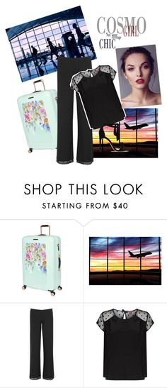 """Aiport at the morning"" by melissa2009xd ❤ liked on Polyvore featuring Ted Baker, Eberjey, Princesse tam.tam, Smashbox and Alexandre Birman"