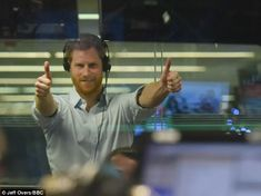 Prince Harry affectionately called his father 'pa' and thanked him for 'allowing' him to interview him for the show before he was affectionately called 'darling boy' by the Prince of Wales.
