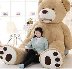 Large Teddy Bear, Giant Teddy Bear, Teddy Bear Coat, Huge Teddy Bears, Big Bear, Presents For Kids, Gifts For Kids, Plush Animals, Plush Dolls