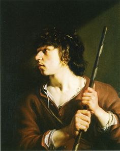 Salomon de Bray Shepherd 1635 75.5 x 59 cm Oil on panel Gemäldegalerie Alte Meister, Dresden