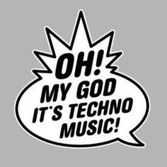 Hate techno music