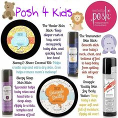 These are a must have! Perfectly posh is great for babies and kids! https://ohmygoshweloveposh.po.sh/