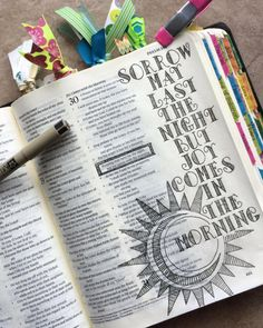 When i started journaling in my bible in february of this year, i had no id My Bible, Bible Art, Bible Quotes, Bible Verses, Scriptures, Faith Bible, Bible Drawing, Bible Doodling, Bible Study Journal