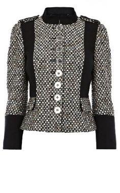 Karen Millen Posh Tweed Jacket : Coats & Jackets