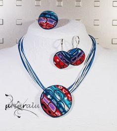ur- polymer clay Washer Necklace, Polymer Clay, Jewelry, Jewlery, Jewerly, Schmuck, Jewels, Jewelery, Fine Jewelry