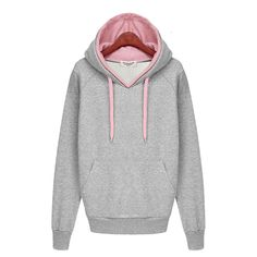 Cheap pullover wool, Buy Quality clothing skateboard directly from China clothing Suppliers:  Women Autumn Winter Sweatshirt Casual Double Hoodies Long Sleeve Female Pullover Sport Tops Women's Clothings 2015 New