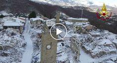 Imagens Captadas Por Drone Mostram o Estado Devastador Que Se Encontra Itália Meses Depois Do Terramoto