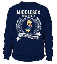 Middlesex, New Jersey Its Where My Story Begins T-Shirt #Middlesex
