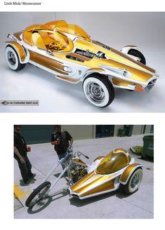 Voitures Hot Wheels, Cowgirl Photo, Big Daddy, Sidecar, Wheelbarrow, Go Kart, Rat Rods, Custom Cars, Concept Cars