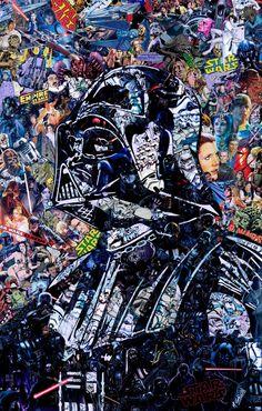 M. Garcin – Darth Vader Portrait