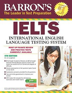 Barron's IELTS: International English Language with cd audio - COTE : 976 LOU