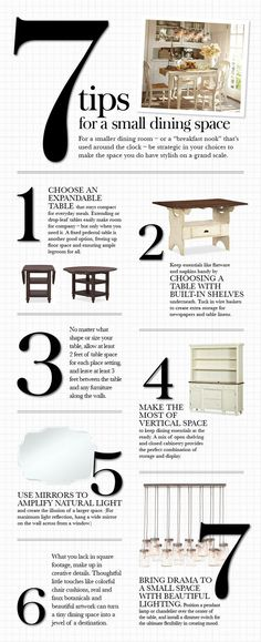 7 Tips for a Small Dining Space | Pottery Barn  140324