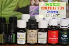 "Wondering Which Essential Oils Company is Best? What about the ""Therapeutic Grade"" claims the MLM oils companies make? Come find out all you..."
